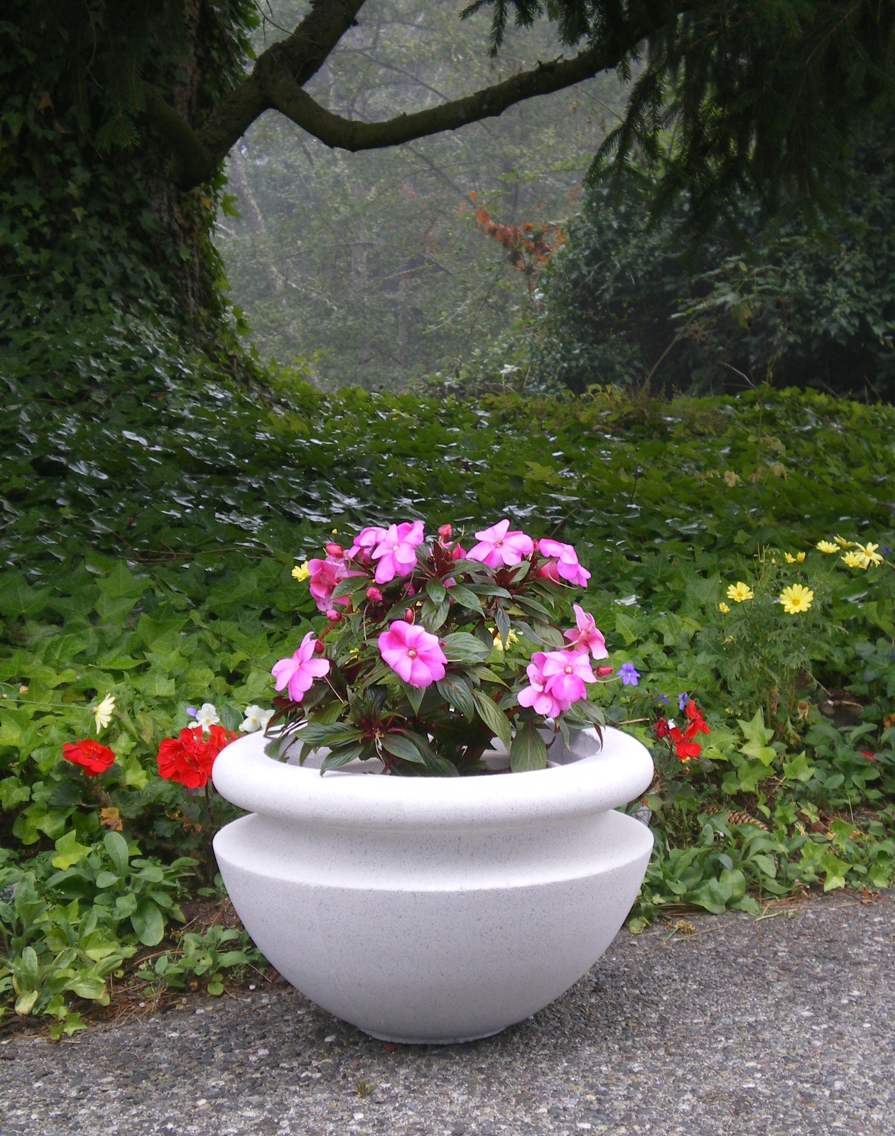 The Cast Stone Orchard Bowl Is Offered In Many Diameters