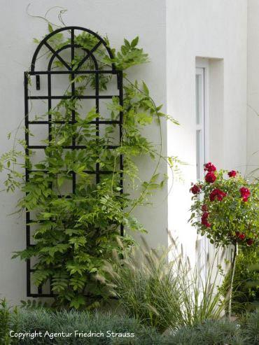 Arch Top Wall Trellis Orangerie Garden Artisans Llc