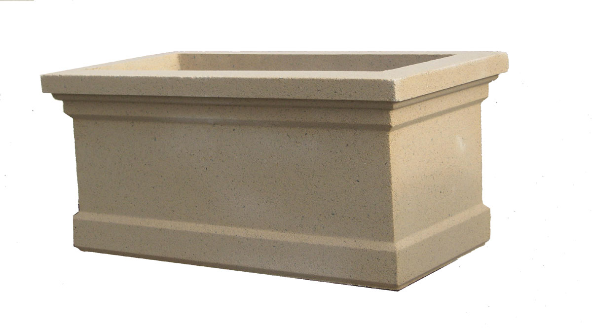 Cambidge Trough Planter Cast Stone