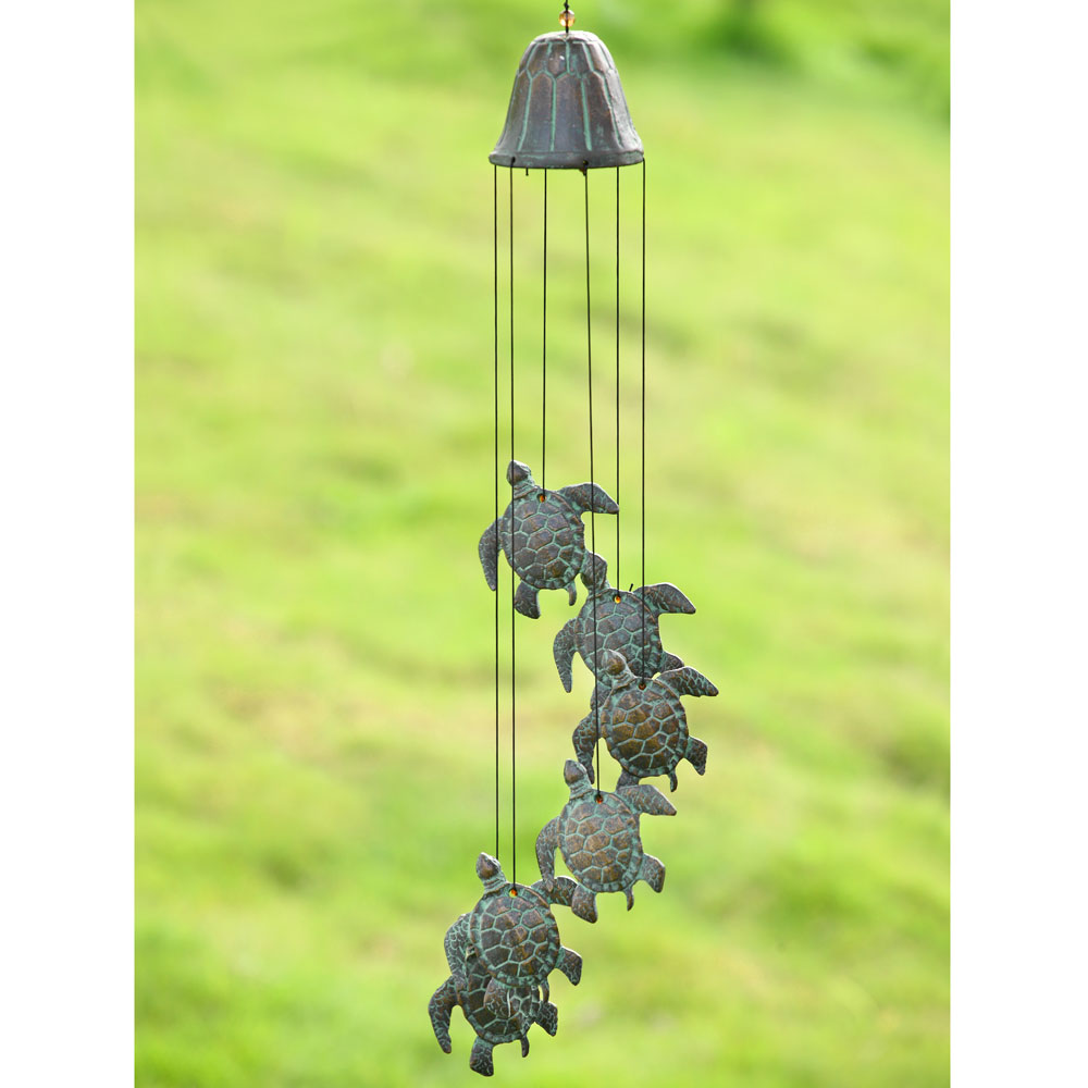 Sea Turtle Explorer Wind Chime Garden Artisans Llc