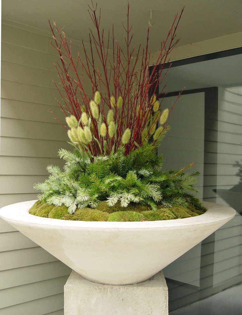 Essex Bowl Is A Contemporary Planter Available With Or
