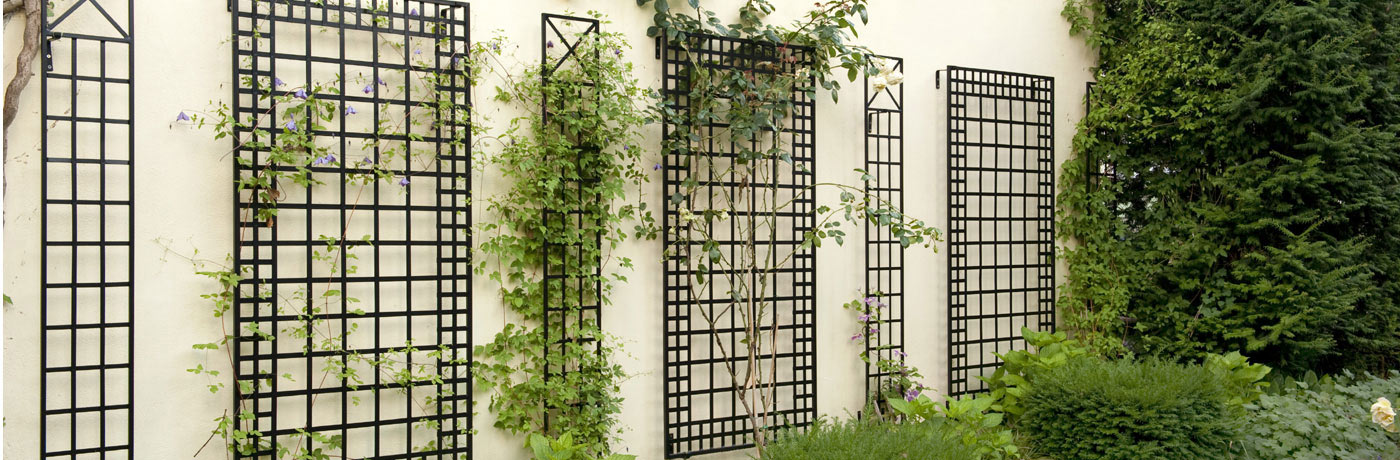 Wall Trellises from Classic Garden Elements