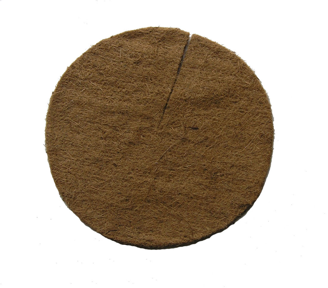 12 Quot Round Pre Cut Coco Replacement Liner 5 Pack Garden