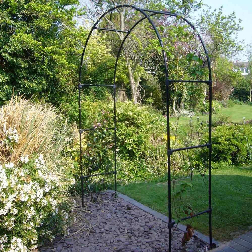 York / Round Garden Arch - Classic Range & York Garden Arches TBK - 4ft thru 12 ft widths - round top garden ...