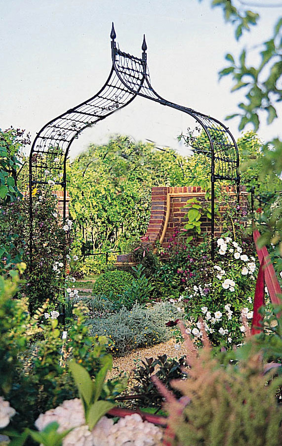 Gothic Garden Arches Tbk Ogee Style Steel Garden Arch