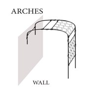 Wall Style Garden Arch by Agriframes
