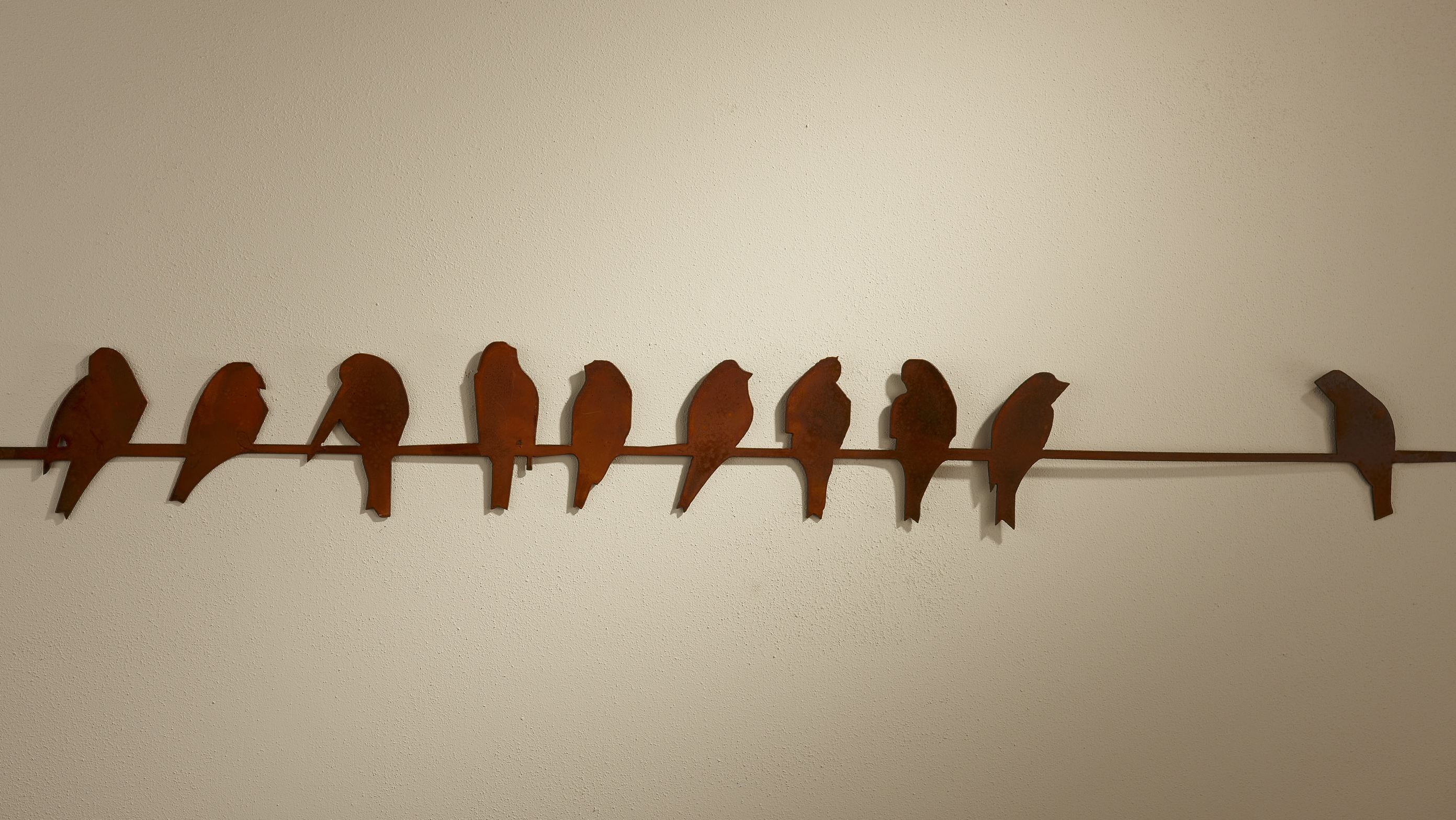 Birds On A Wire Wall Hanging Indoor Outdoor