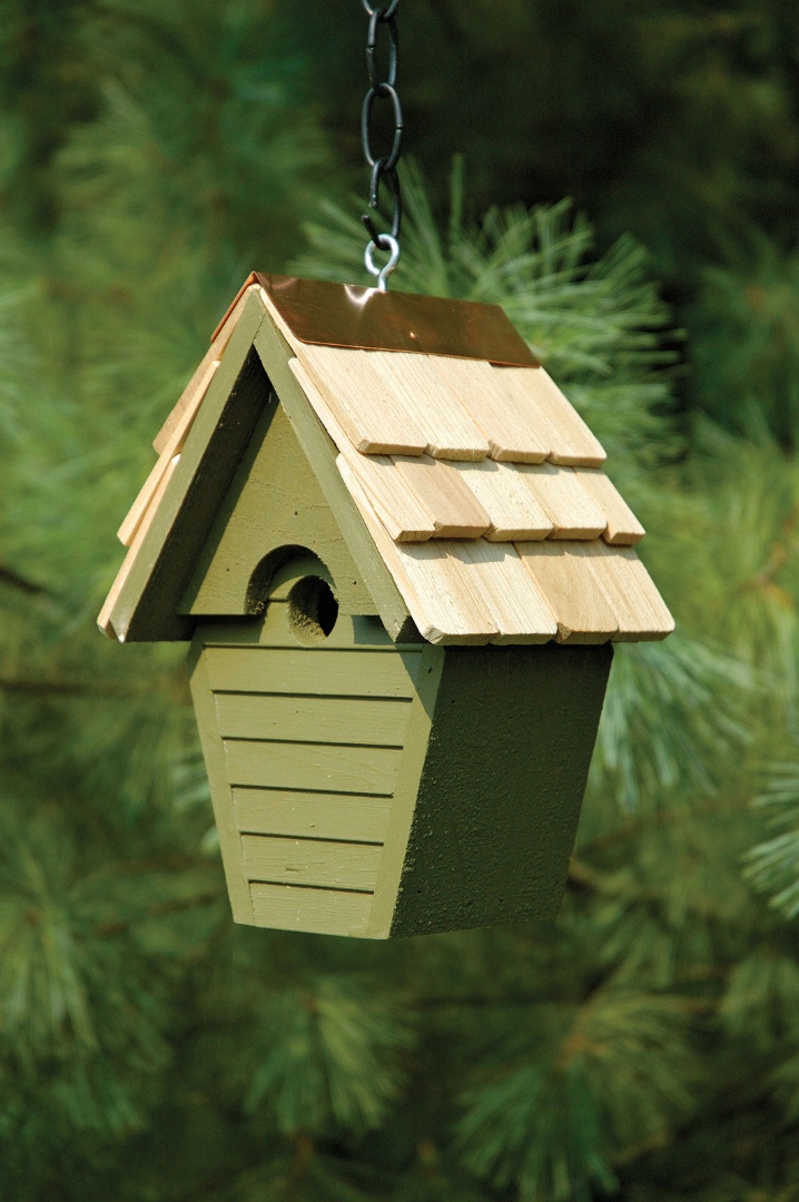 Wren In The Wind Birdhouse Garden Artisans Llc