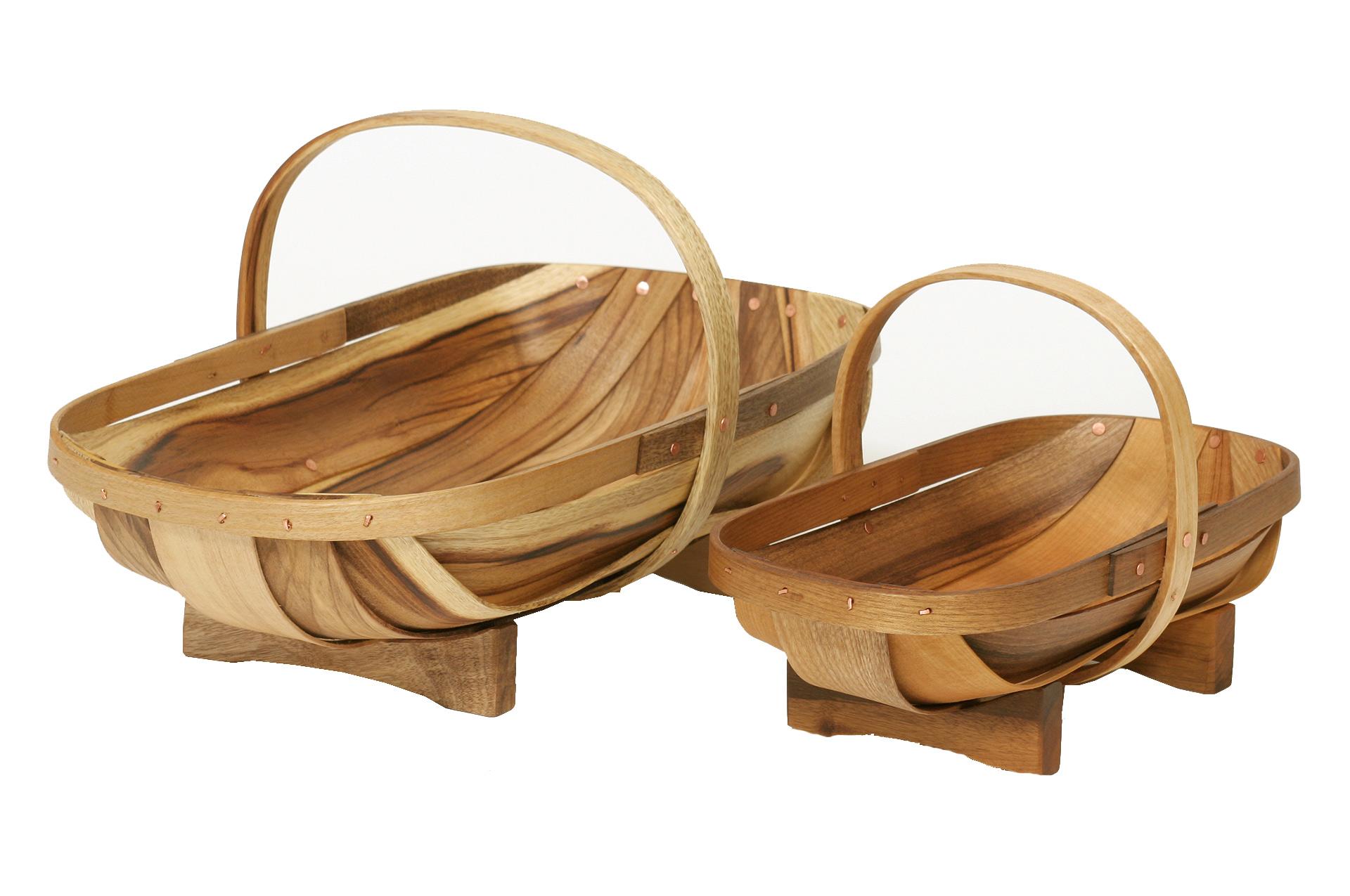 Wooden Garden Trug - 2 sizes available - or buy the set | Garden ...