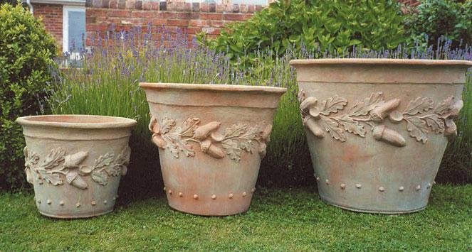 Oakleaf Pots Garden Artisans Llc