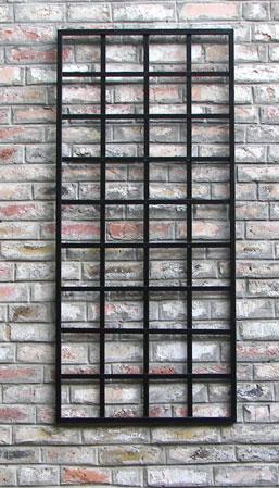 """Metal Wall Trellis 28"""" wide wall trellis   garden artisans, llc"""