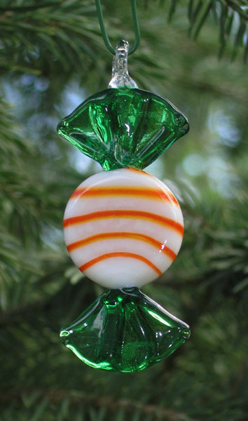 Details About Glass Candy Ornaments Fused Glass