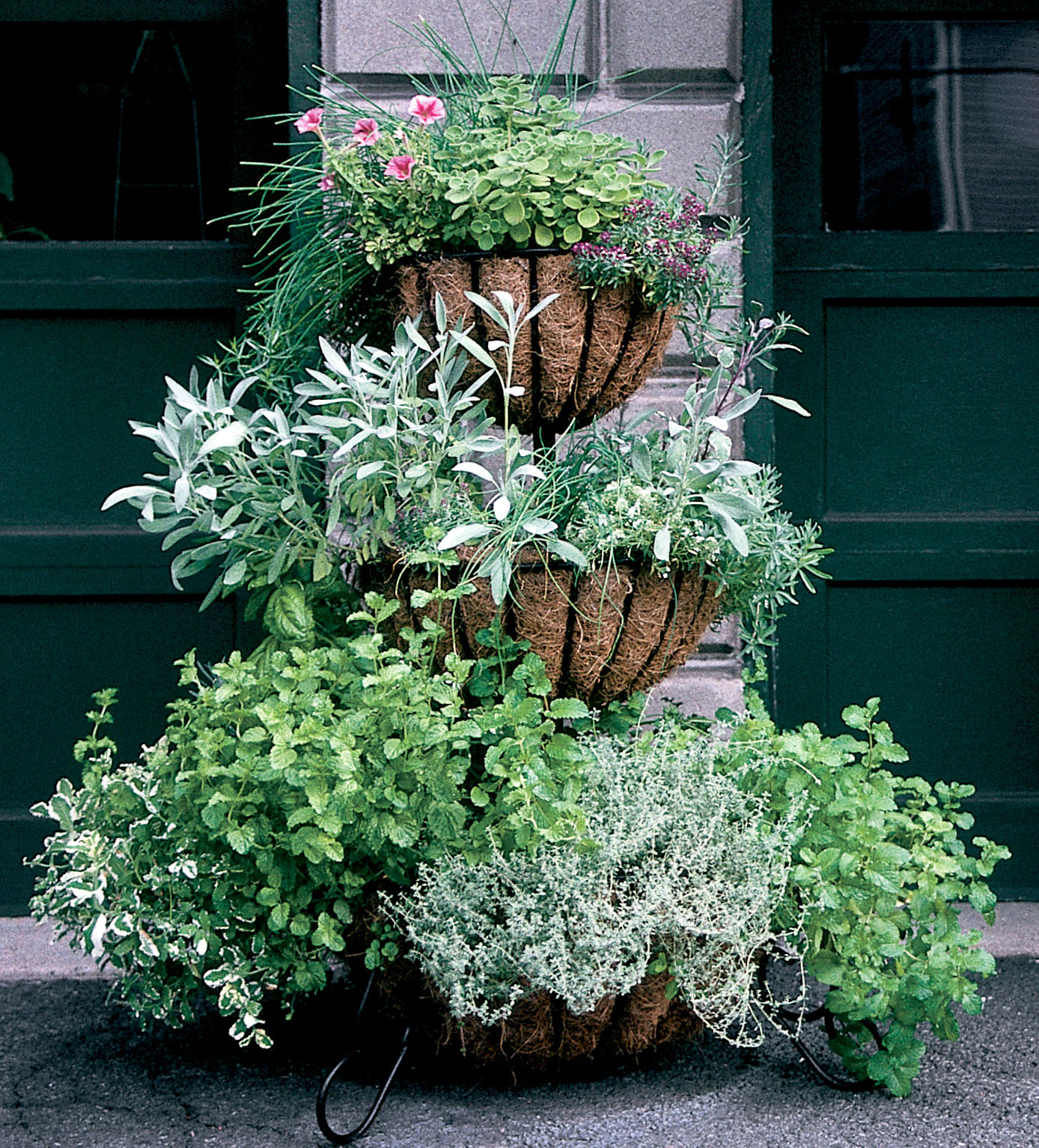 Tiered Cascade Planters 2 Tiered Amp 3 Tiered Baskets