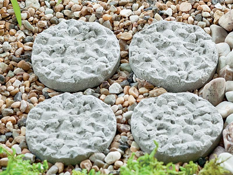 Miniature Round Stepping Stones
