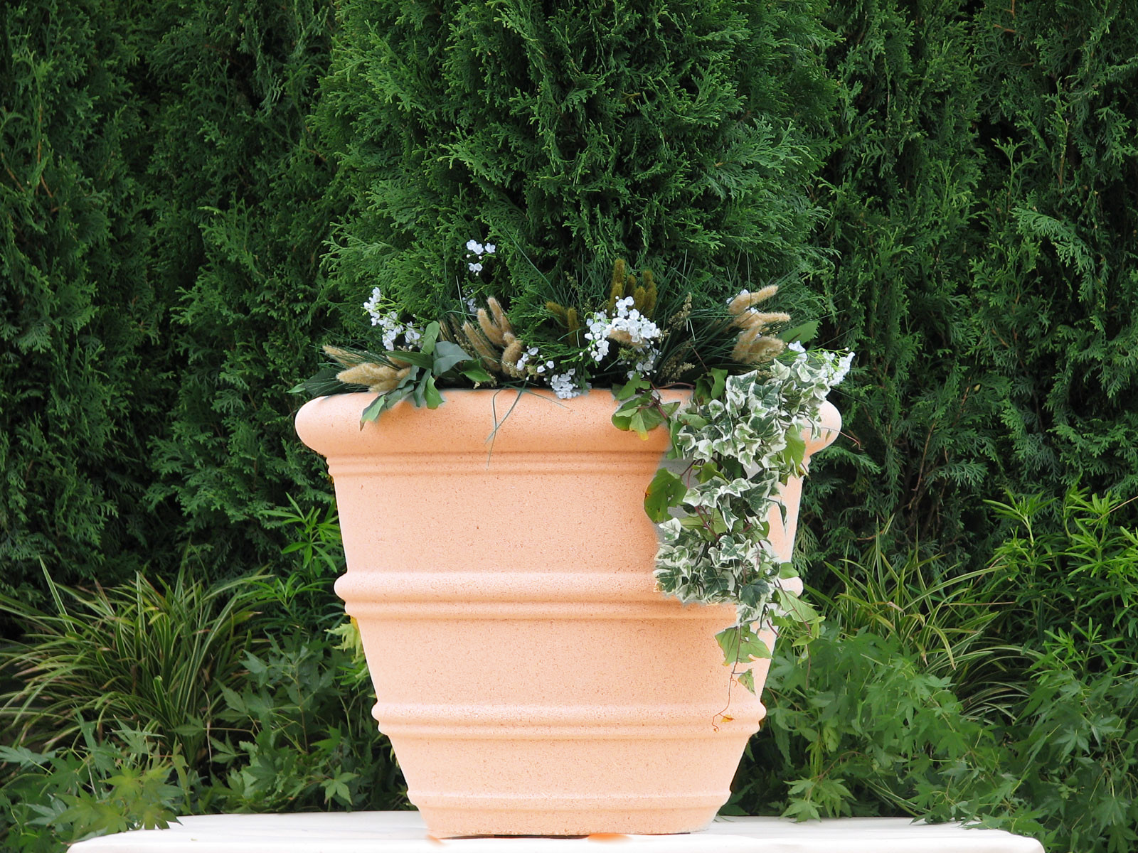 Bristol Vase Cast Stone Planter Garden Artisans Llc