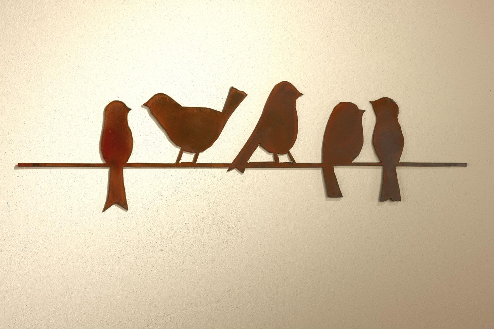 Birds On A Wire 44 Quot Long Garden Artisans Llc