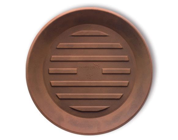 Crescent Universal Round Planter Saucers Lightweight