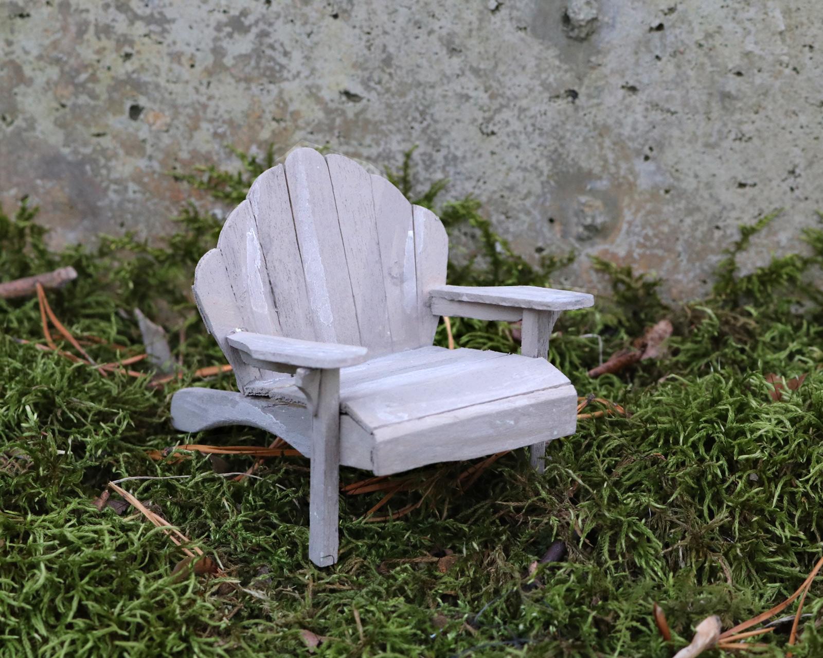 Miniature Adirondack Chair Garden Artisans Llc