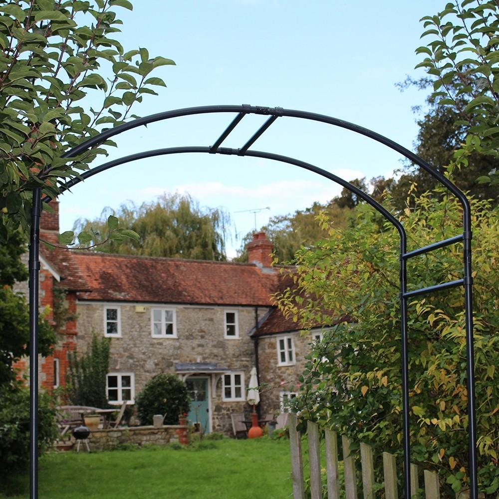 6 Monet Garden Arch TBK Steel Garden Arch 6 W x 24 D Garden