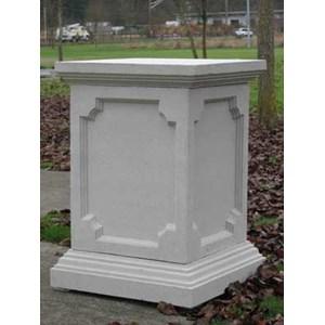 Stone Pedestals Saucers Bollards Spheres Garden Artisans LLC