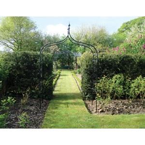 Gothic Garden Arch   Steel Ogee Style Garden Arch