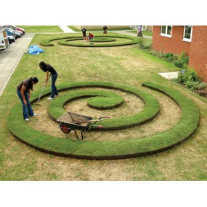 Creative Use of EverEdge Steel Landscape Edging