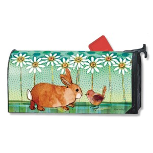 Bunny Magnetic Mail Box Wrap