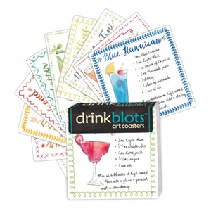 Drink Blots - Mixology Paper Art Coasters