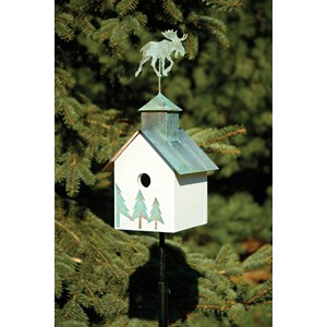 Sleepy Hollow Birdhouse - Moose