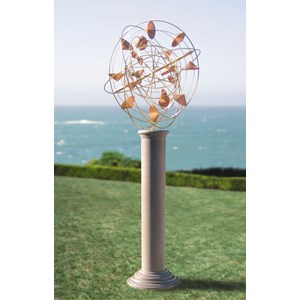 StrataSphere Kinetic Wind Sculpture