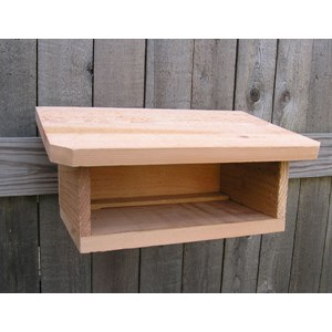 Cedar Shelter for Mason Bee Kits