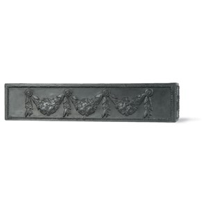 Swag fiberglass window box - Faux Lead
