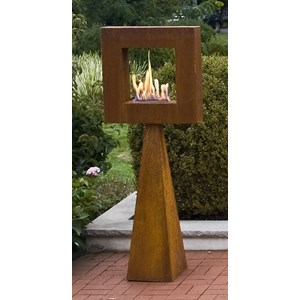 Framing the Flame Sculpture