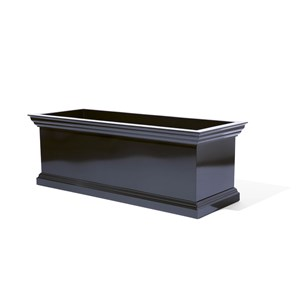 York Cornice - Custom Glossy Black Powder Coat