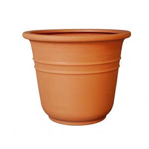 Bell Planter - bell shaped round rotationally molded plastic planter