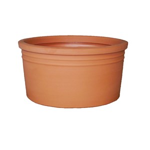 Low Cylinder Planter - rotationally molded plastic planter