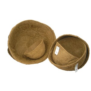 Round Molded Coco Liners - many sizes