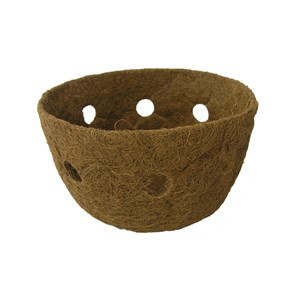 "Molded Coco Liner for 14"" Single Row Side Planting Basket"