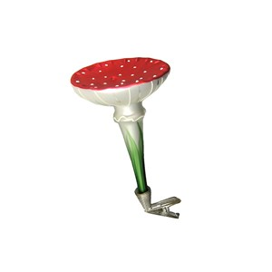 Mushroom Clip-On Ornament