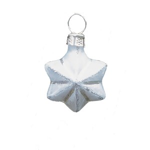 Mini Star Hand-Blown Glass Ornament