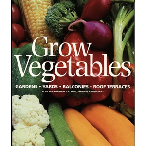 Grow Vegetables - book