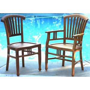 Solesbury Teak Chairs