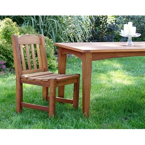 Valley Forge Teak Side Chair