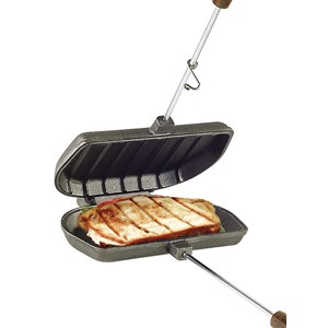 Cast Iron Panini Press Cooker