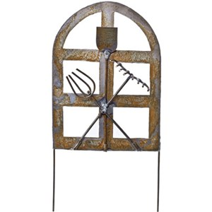 Miniature French Garden Gate - Metal