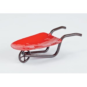 Miniature Red Wheelbarrow