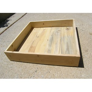 Wooden Garden Box for miniature gardens
