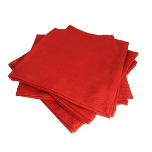 Red Cloth Napkins