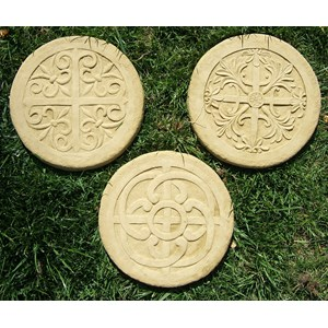 Celtic Stepping Stone - Old Stone - Set of 3