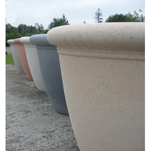 Dorset Bowls - Front to Back: Creme, Pewter, Limestone, Terracotta, Tan